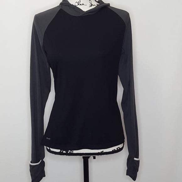 798a099754923 Nike Tops | Running Dri Fit Hoodie Size Medium | Poshmark